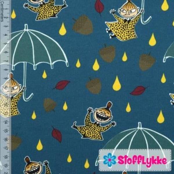 Bilde av Lille My Paraply Sjøgrønn - Mummi Jersey