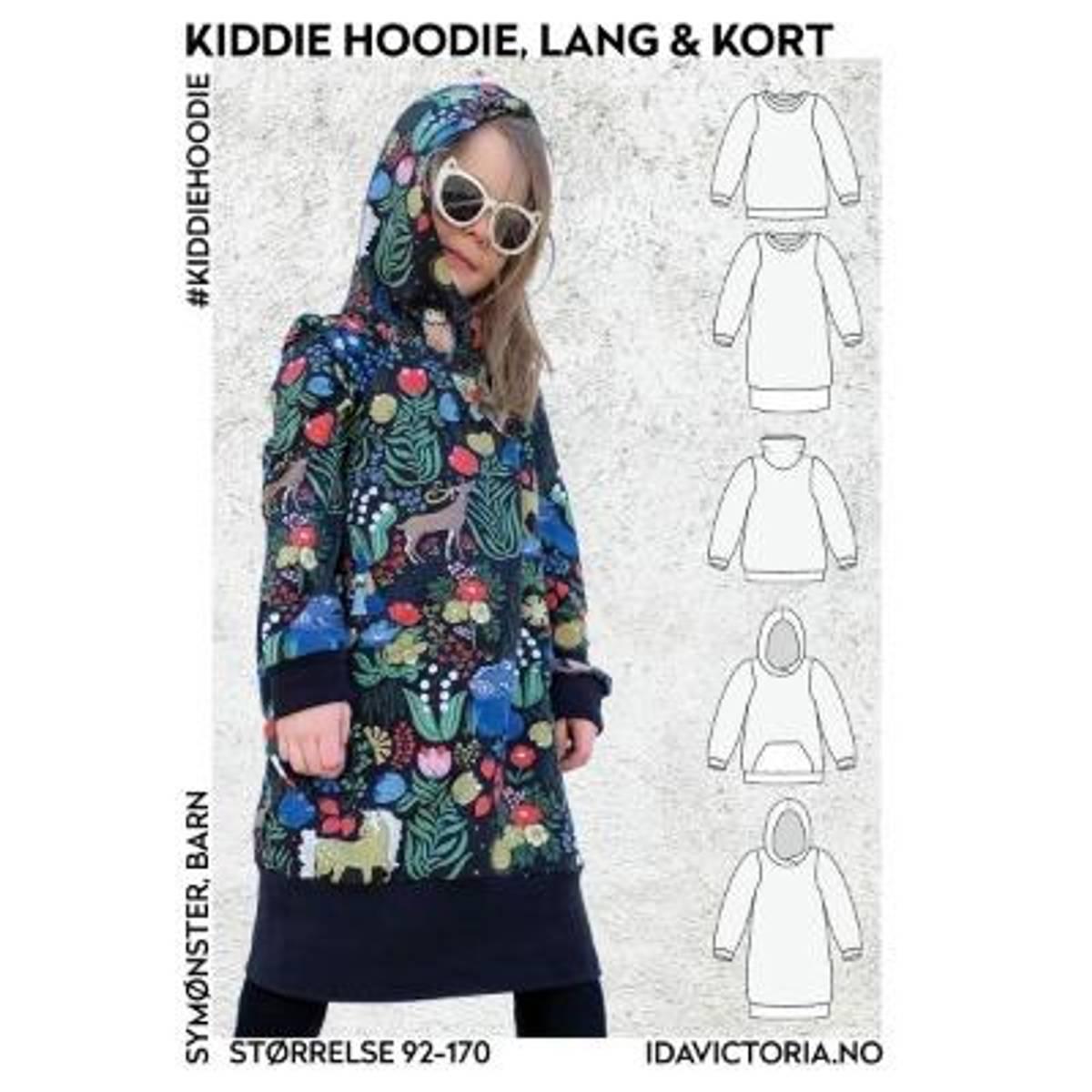 Kiddie Hoodie – lang & kort genser (92-170)